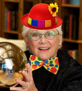 Kathy Kolbe for clown